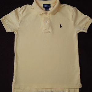 Polo Ralph Lauren Boy's Yellow Polo